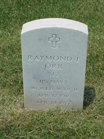 ORR (VETERAN WWII), RAYMOND E - Pulaski County, Arkansas   RAYMOND E ORR (VETERAN WWII) - Arkansas Gravestone Photos
