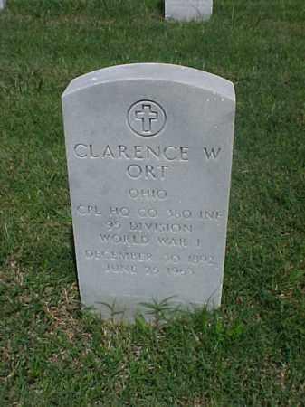 ORT (VETERAN WWI), CLARENCE W - Pulaski County, Arkansas | CLARENCE W ORT (VETERAN WWI) - Arkansas Gravestone Photos