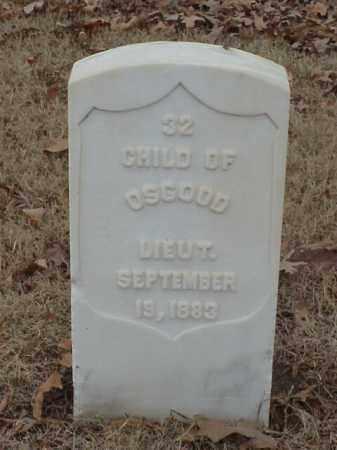 OSGOOD, CHILD - Pulaski County, Arkansas   CHILD OSGOOD - Arkansas Gravestone Photos