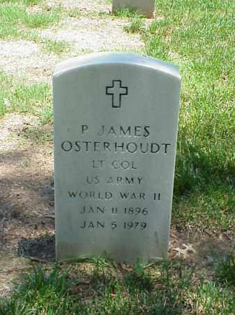 OSTERHOUDT (VETERAN WWII), P JAMES - Pulaski County, Arkansas | P JAMES OSTERHOUDT (VETERAN WWII) - Arkansas Gravestone Photos