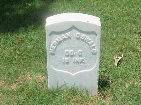 OSWALD (VETERAN UNION), HERMAN - Pulaski County, Arkansas | HERMAN OSWALD (VETERAN UNION) - Arkansas Gravestone Photos
