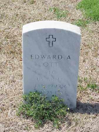 OTT (VETERAN), EDWARD A - Pulaski County, Arkansas | EDWARD A OTT (VETERAN) - Arkansas Gravestone Photos
