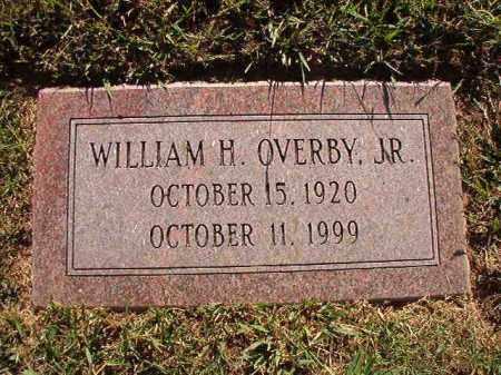 OVERBY, JR, WILLIAM H - Pulaski County, Arkansas | WILLIAM H OVERBY, JR - Arkansas Gravestone Photos