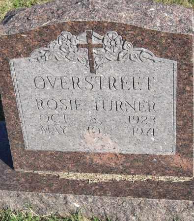 OVERSTREET, ROSIE - Pulaski County, Arkansas | ROSIE OVERSTREET - Arkansas Gravestone Photos