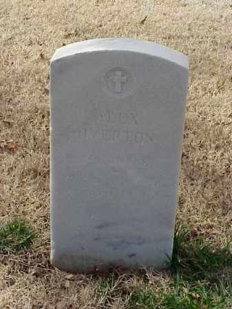 OVERTON (VETERAN WWI), ALEX - Pulaski County, Arkansas   ALEX OVERTON (VETERAN WWI) - Arkansas Gravestone Photos