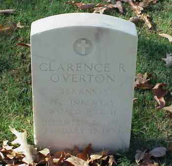 OVERTON (VETERAN WWII), CLARENCE R - Pulaski County, Arkansas | CLARENCE R OVERTON (VETERAN WWII) - Arkansas Gravestone Photos