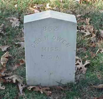 OWEN (VETERAN CSA), GEORGE H - Pulaski County, Arkansas   GEORGE H OWEN (VETERAN CSA) - Arkansas Gravestone Photos