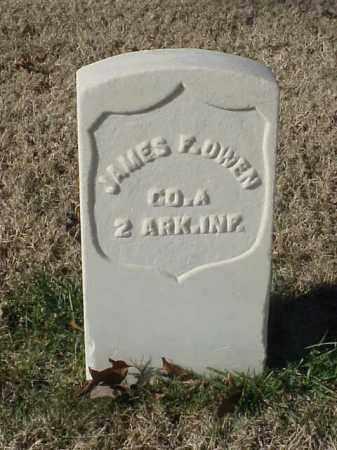 OWEN (VETERAN UNION), JAMES F - Pulaski County, Arkansas | JAMES F OWEN (VETERAN UNION) - Arkansas Gravestone Photos
