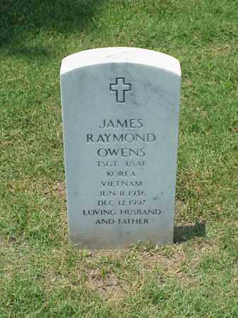 OWENS (VETERAN 2 WARS), JAMES RAYMOND - Pulaski County, Arkansas | JAMES RAYMOND OWENS (VETERAN 2 WARS) - Arkansas Gravestone Photos
