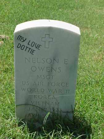 OWENS (VETERAN 3 WARS), NELSON E - Pulaski County, Arkansas | NELSON E OWENS (VETERAN 3 WARS) - Arkansas Gravestone Photos