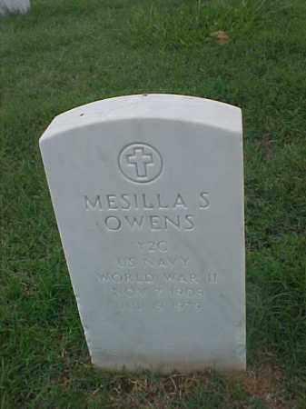 OWENS (VETERAN WWII), MESILLA S - Pulaski County, Arkansas | MESILLA S OWENS (VETERAN WWII) - Arkansas Gravestone Photos