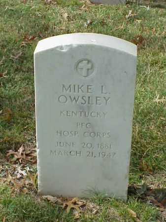 OWSLEY (VETERAN WWI), MIKE L - Pulaski County, Arkansas | MIKE L OWSLEY (VETERAN WWI) - Arkansas Gravestone Photos