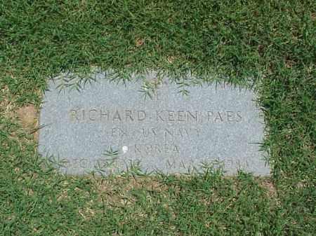 PAES (VETERAN KOR), RICHARD KEEN - Pulaski County, Arkansas | RICHARD KEEN PAES (VETERAN KOR) - Arkansas Gravestone Photos