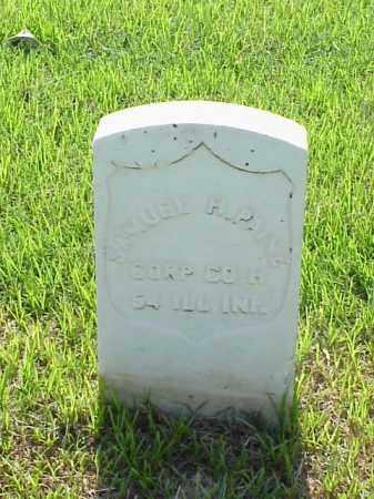 PAINE (VETERAN UNION), SAMUEL H - Pulaski County, Arkansas | SAMUEL H PAINE (VETERAN UNION) - Arkansas Gravestone Photos