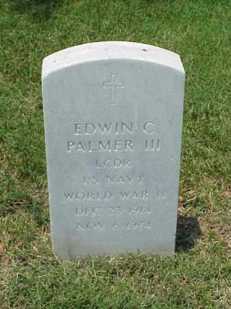 PALMER III (VETERAN WWII), EDWIN C - Pulaski County, Arkansas   EDWIN C PALMER III (VETERAN WWII) - Arkansas Gravestone Photos