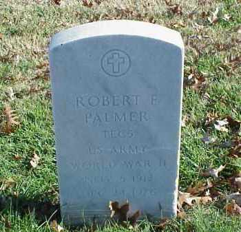 PALMER (VETERAN WWII), ROBERT F - Pulaski County, Arkansas | ROBERT F PALMER (VETERAN WWII) - Arkansas Gravestone Photos