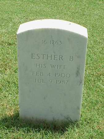 PANICH, ESTHER B - Pulaski County, Arkansas   ESTHER B PANICH - Arkansas Gravestone Photos