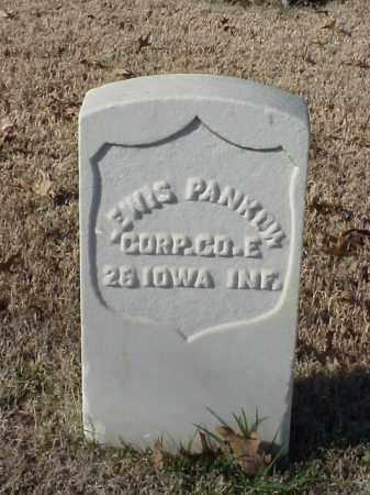 PANKOW (VETERAN UNION), LEWIS - Pulaski County, Arkansas | LEWIS PANKOW (VETERAN UNION) - Arkansas Gravestone Photos