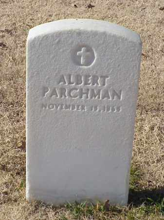PARCHMAN, ALBERT - Pulaski County, Arkansas | ALBERT PARCHMAN - Arkansas Gravestone Photos