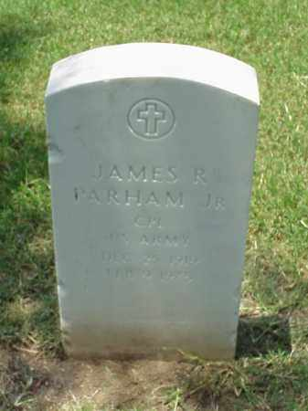PARHAM, JR (VETERAN WWII), JAMES R - Pulaski County, Arkansas | JAMES R PARHAM, JR (VETERAN WWII) - Arkansas Gravestone Photos