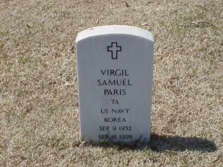 PARIS (VETERAN KOR), VIRGIL SAMUEL - Pulaski County, Arkansas | VIRGIL SAMUEL PARIS (VETERAN KOR) - Arkansas Gravestone Photos