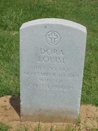 PARISH, DORA LOUISE - Pulaski County, Arkansas | DORA LOUISE PARISH - Arkansas Gravestone Photos