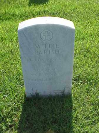 PARISH (VETERAN WWII), WILLIE - Pulaski County, Arkansas | WILLIE PARISH (VETERAN WWII) - Arkansas Gravestone Photos