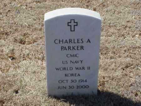 PARKER  (VETERAN 2 WARS), CHARLES A - Pulaski County, Arkansas | CHARLES A PARKER  (VETERAN 2 WARS) - Arkansas Gravestone Photos