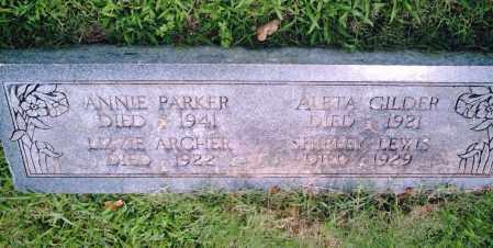ARCHER, LIZZIE - Pulaski County, Arkansas   LIZZIE ARCHER - Arkansas Gravestone Photos