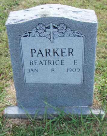 PARKER, BEATRICE E. - Pulaski County, Arkansas | BEATRICE E. PARKER - Arkansas Gravestone Photos