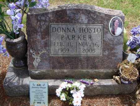 HOSTO PARKER, DONNA - Pulaski County, Arkansas | DONNA HOSTO PARKER - Arkansas Gravestone Photos