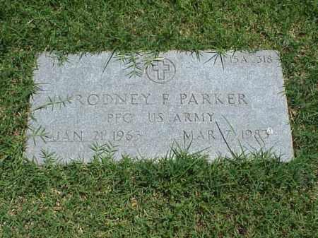 PARKER (VETERAN), RODNEY F - Pulaski County, Arkansas | RODNEY F PARKER (VETERAN) - Arkansas Gravestone Photos