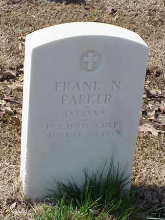 PARKER (VETERAN SAW), FRANK N - Pulaski County, Arkansas | FRANK N PARKER (VETERAN SAW) - Arkansas Gravestone Photos