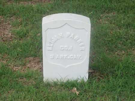 PARKER (VETERAN UNION), ELIJAH - Pulaski County, Arkansas | ELIJAH PARKER (VETERAN UNION) - Arkansas Gravestone Photos