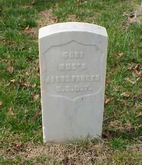 PARKER (VETERAN UNION), JACOB - Pulaski County, Arkansas | JACOB PARKER (VETERAN UNION) - Arkansas Gravestone Photos