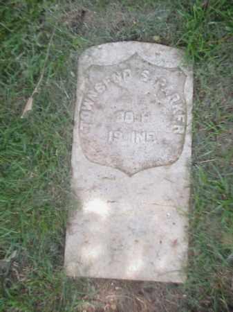 PARKER (VETERAN UNION), TOWNSEND S - Pulaski County, Arkansas | TOWNSEND S PARKER (VETERAN UNION) - Arkansas Gravestone Photos