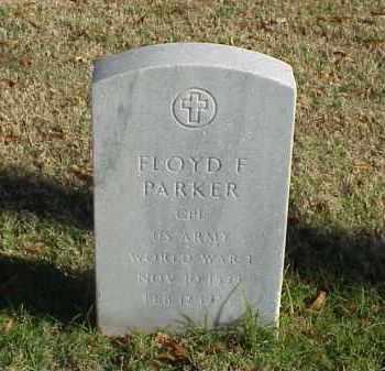 PARKER (VETERAN WWI), FLOYD F - Pulaski County, Arkansas | FLOYD F PARKER (VETERAN WWI) - Arkansas Gravestone Photos