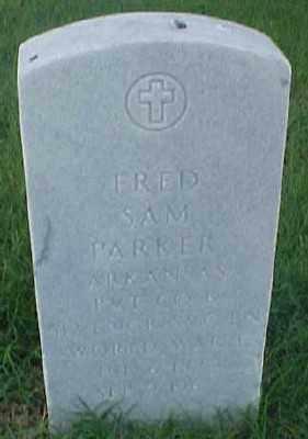 PARKER (VETERAN WWI), FRED SAM - Pulaski County, Arkansas   FRED SAM PARKER (VETERAN WWI) - Arkansas Gravestone Photos