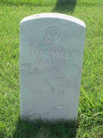 PARKER (VETERAN WWI), SYLVESTER - Pulaski County, Arkansas   SYLVESTER PARKER (VETERAN WWI) - Arkansas Gravestone Photos