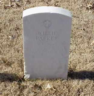 PARKER (VETERAN WWI), WILLIE - Pulaski County, Arkansas | WILLIE PARKER (VETERAN WWI) - Arkansas Gravestone Photos