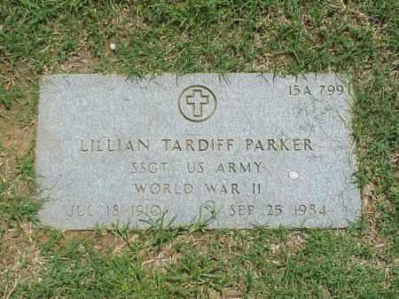 PARKER (VETERAN WWII), LILLIAN TARDIFF - Pulaski County, Arkansas | LILLIAN TARDIFF PARKER (VETERAN WWII) - Arkansas Gravestone Photos