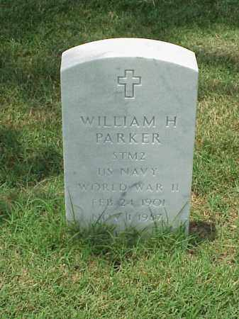 PARKER (VETERAN WWII), WILLIAM H - Pulaski County, Arkansas   WILLIAM H PARKER (VETERAN WWII) - Arkansas Gravestone Photos
