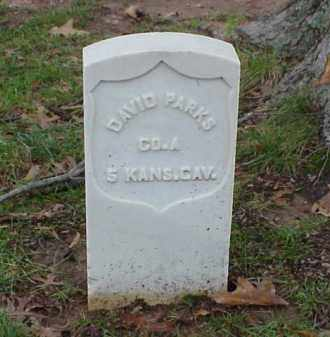 PARKS (VETERAN UNION), DAVID - Pulaski County, Arkansas | DAVID PARKS (VETERAN UNION) - Arkansas Gravestone Photos