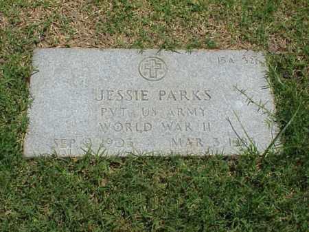 PARKS (VETERAN WWII), JESSIE - Pulaski County, Arkansas   JESSIE PARKS (VETERAN WWII) - Arkansas Gravestone Photos