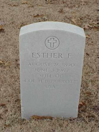 PARROTT, ESTHER F - Pulaski County, Arkansas | ESTHER F PARROTT - Arkansas Gravestone Photos