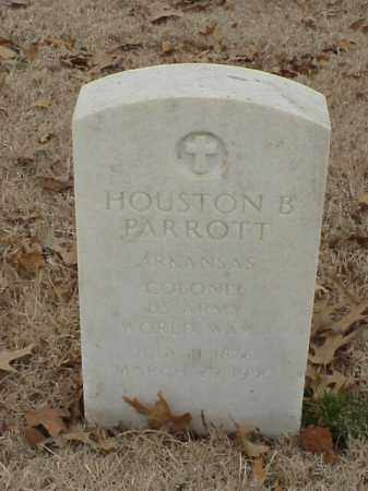 PARROTT (VETERAN WWI), HOUSTON B - Pulaski County, Arkansas | HOUSTON B PARROTT (VETERAN WWI) - Arkansas Gravestone Photos