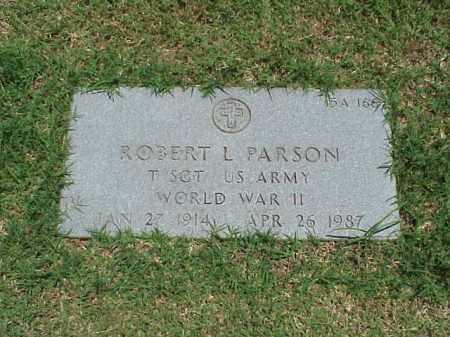 PARSON (VETERAN WWII), ROBERT L - Pulaski County, Arkansas   ROBERT L PARSON (VETERAN WWII) - Arkansas Gravestone Photos