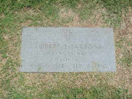 PARSONS (VETERAN KOR), ROBERT E - Pulaski County, Arkansas | ROBERT E PARSONS (VETERAN KOR) - Arkansas Gravestone Photos