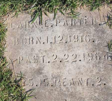 PARTER, CLARENCE - Pulaski County, Arkansas   CLARENCE PARTER - Arkansas Gravestone Photos