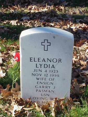 PASMAN, ELEANOR LYDIA - Pulaski County, Arkansas | ELEANOR LYDIA PASMAN - Arkansas Gravestone Photos